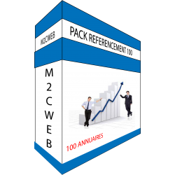 PACK REFERENCEMENT 100 ANNUAIRES