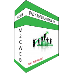 PACK REFERENCEMENT 400 ANNUAIRES