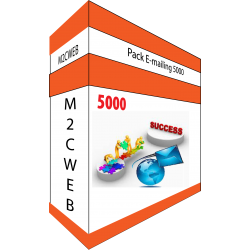 Pack E-mailing 5000