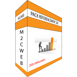 PACK REFERENCEMENT 200 ANNUAIRES