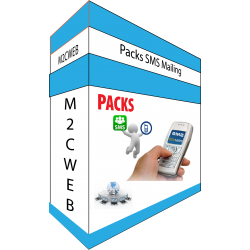 PACKS SMS Mailing